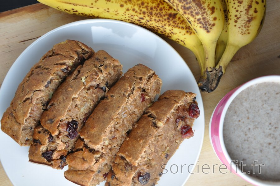 Banana Bread sain (sans sucre ni matières grasses)