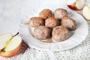 Boulettes de pomme au blé complet