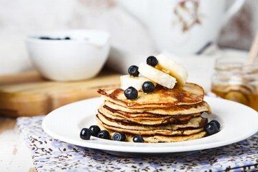 Pancakes 2 ingrédients sains à la banane