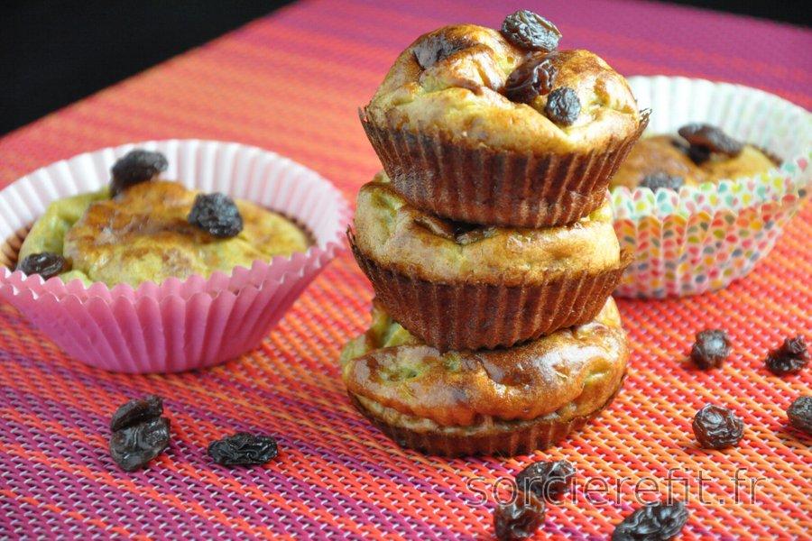 Muffins à la banane simples et équilibrés (sans gluten ni sucre)