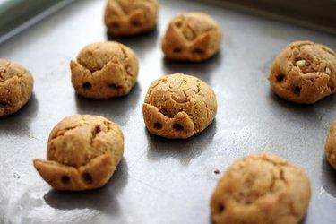 Cookies 3 ingrédients au beurre de cacahuètes (sans gluten)