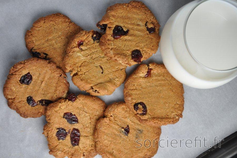 Succulents cookies croustillants équilibrés aux pois chiches (sans gluten)