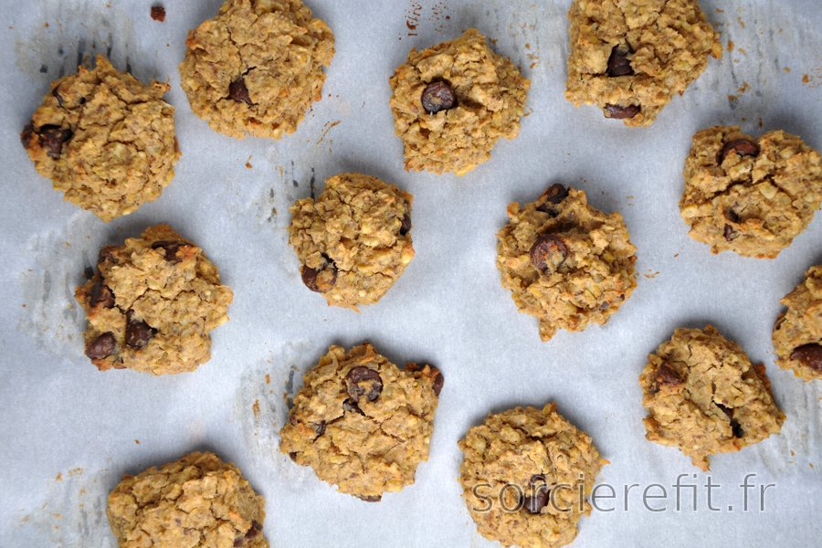 Cookies moelleux aux pois-chiches