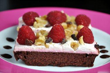 Gâteau au cacao et à la betterave (sans gluten)