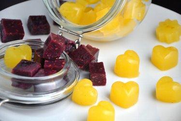 Bonbons à la gelée sains et maison