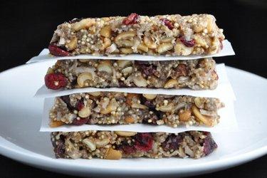 Barres aux super-aliments sans gluten