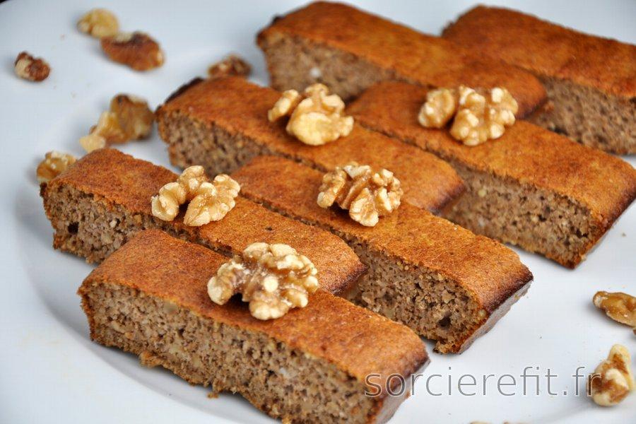 Gâteau 3 ingrédients facile aux noix (sans gluten)