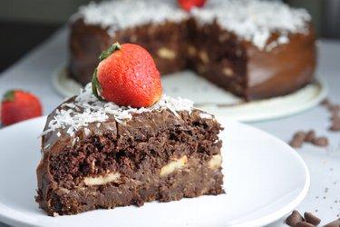 Gâteau au chocolat équilibré pour les amoureux du chocolat