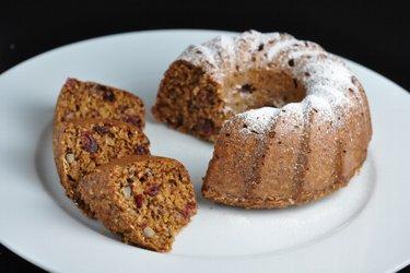 Gâteau Bundt équilibré aux flocons d'avoine