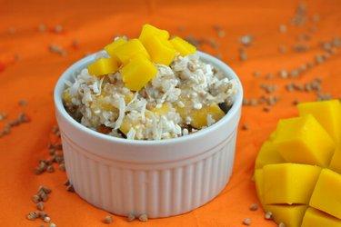 Salade de mangue saine