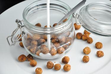 Boules de céréales équilibrées (vanille/cacao)