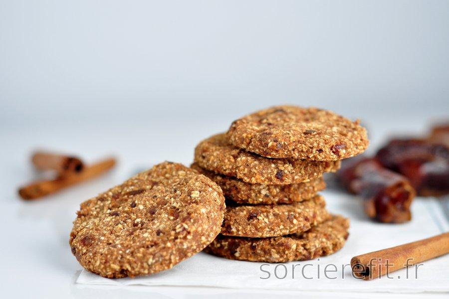 Cookies avoine-cannelle faciles sans farine