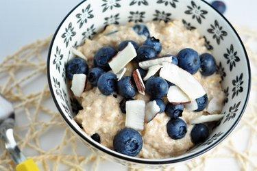 "Porridge ""Cheesecake Myrtille"""