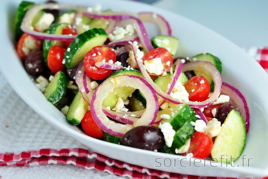 Salade à la grecque facile