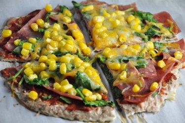 Pâte à pizza au thon allégée