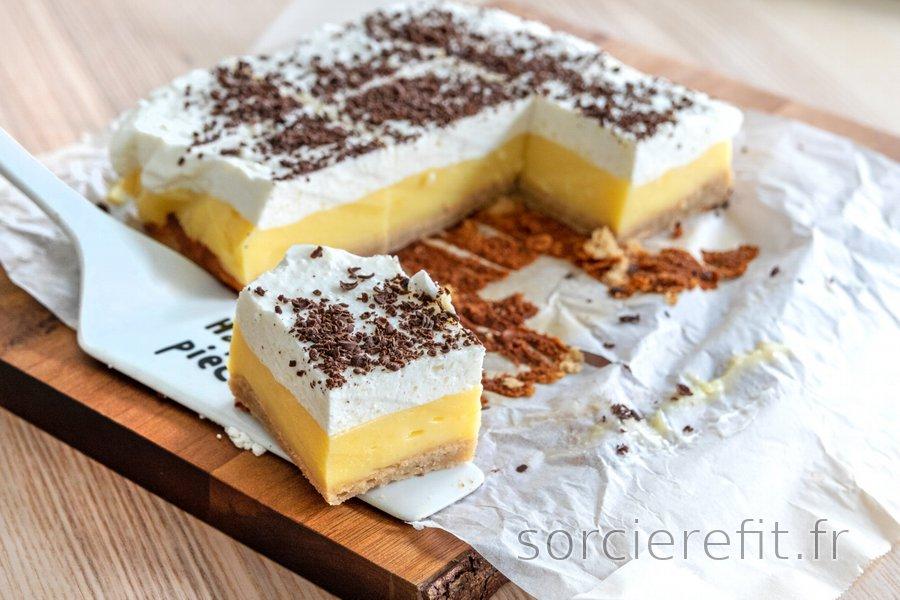 Gâteau à la crème équilibré