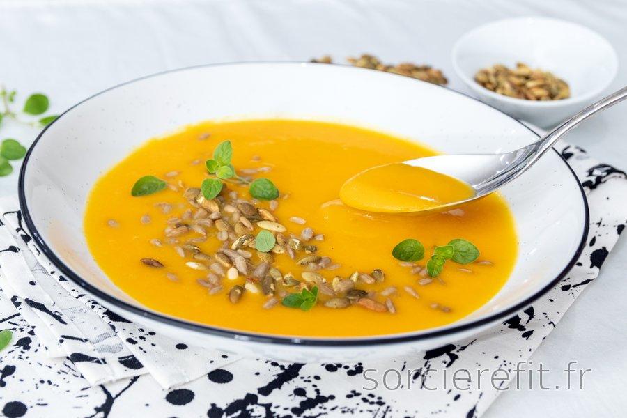 Soupe au potimarron facile