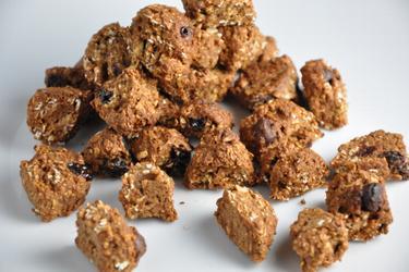 Céréales maison et saines noix de coco-chocolat