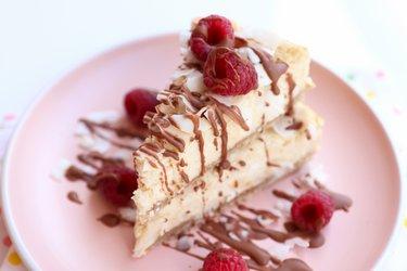 Le meilleur cheesecake santé à la coco