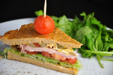 Sandwich sain au thon (sans gluten)