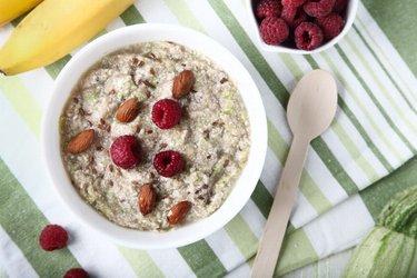Porridge à la courgette