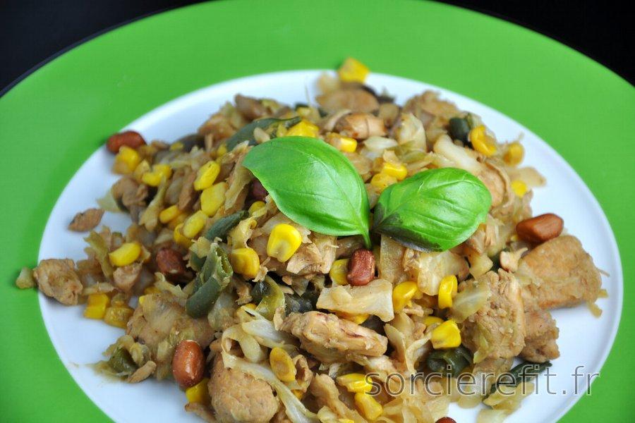 Filets de poulet à la chinoise
