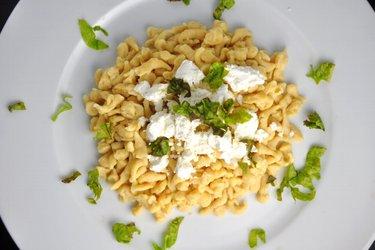 Gnocchis aux pois-chiches équilibrés (sans gluten)