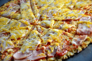 Pizza au chou-fleur saine