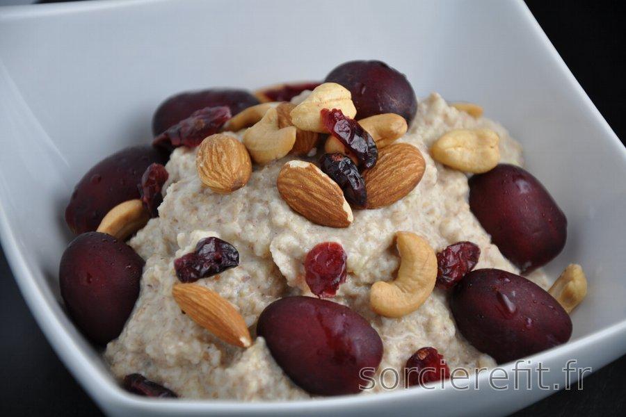 Porridge sain au sarrasin