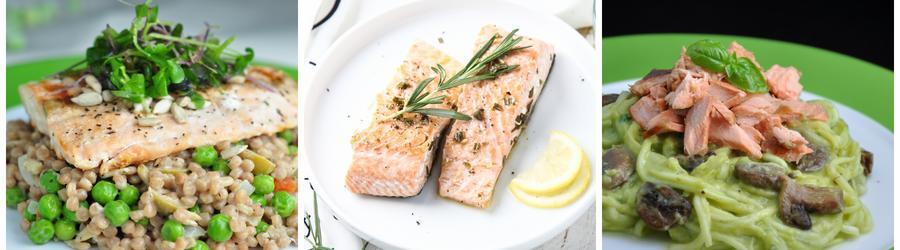 Recettes de salade santé au saumon
