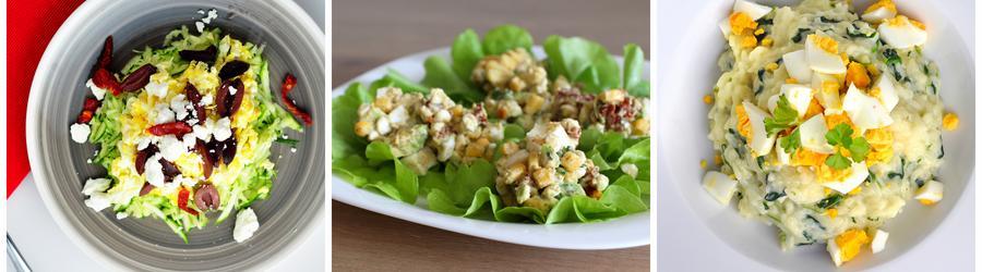 Recettes de salade à base d'oeuf
