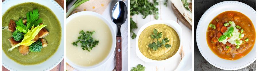 Recettes de soupes riches en protéines
