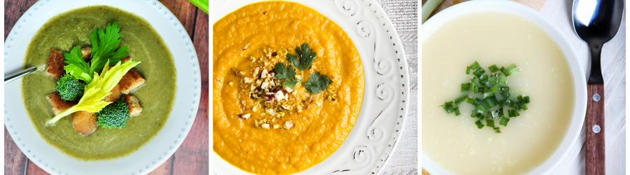 Recettes de soupes pauvres en matières grasses