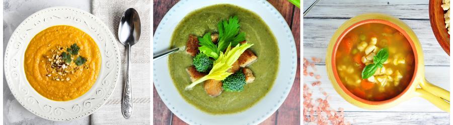 Recettes de soupes low carb