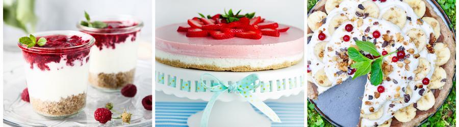 Recettes de desserts santé sans sucre
