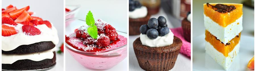 Recettes de desserts pauvres en matières grasses
