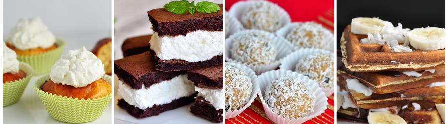 Recettes de desserts pauvres en glucides
