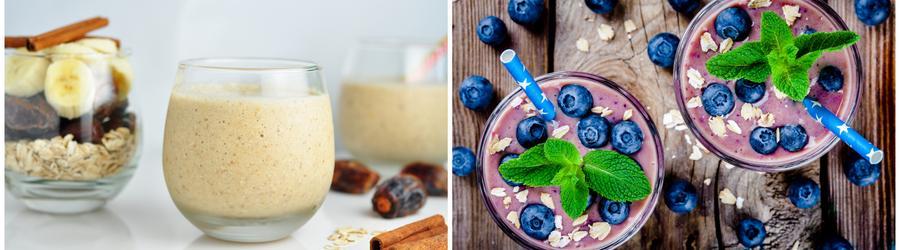 Smoothies et boissons riches en protéines