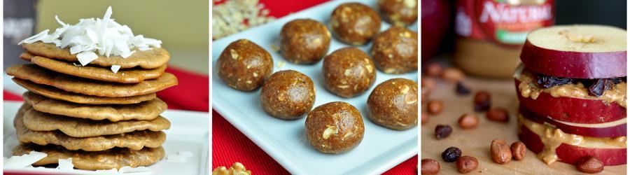 Recettes d'encas au beurre de cacahuètes