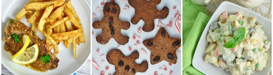 Recettes de fêtes et de Noël pauvres en glucides