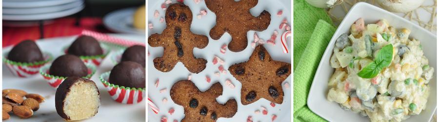 Recettes de Noël et de fêtes sans gluten
