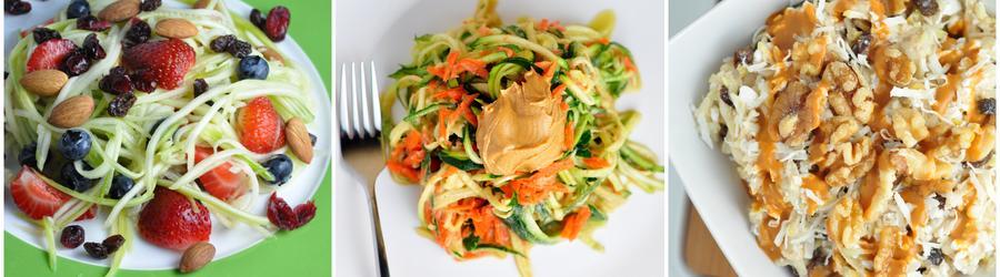 Recettes santé vegan aux courgettes