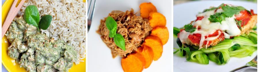 Recettes de poulet sans gluten
