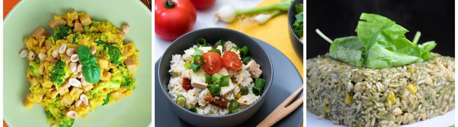 Recettes santé vegan à base de riz
