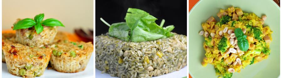 Recettes à base de riz pauvres en glucides
