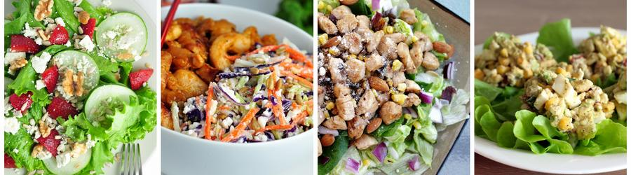Recettes santé de salades