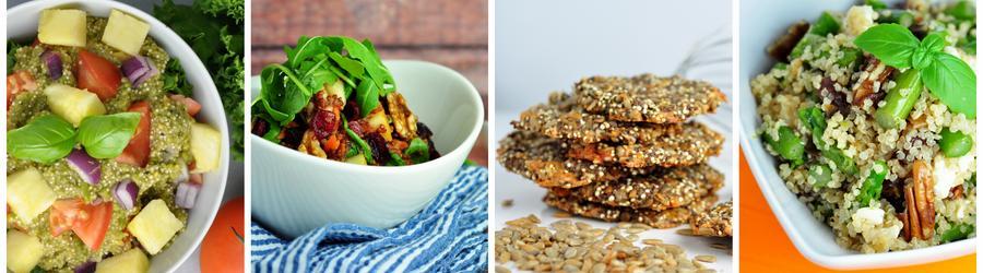 Recettes santé et vegan au quinoa