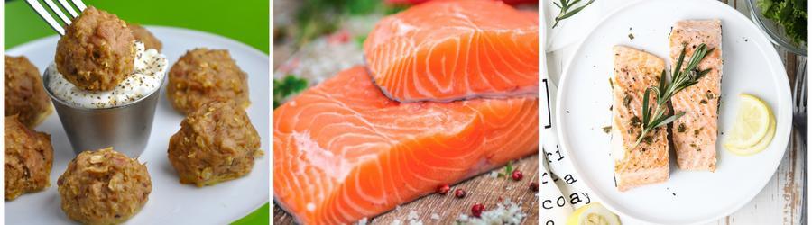 Recettes de saumon pauvres en glucides