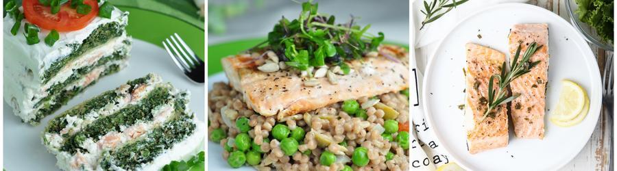 Recettes de saumon riches en protéines
