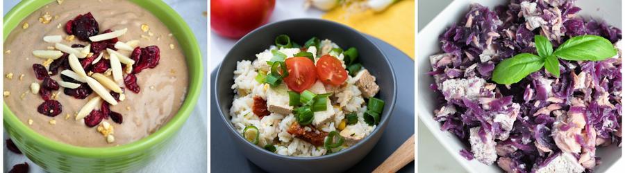 Recettes au tofu sans gluten